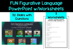 Figurative Language PowerPoint Graphic Teaching Materials By Reading Teacher On The Run