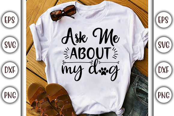 Print on Demand: Funny Mom Life SVG Design, Ask Me About Graphic Print Templates By GraphicsBooth