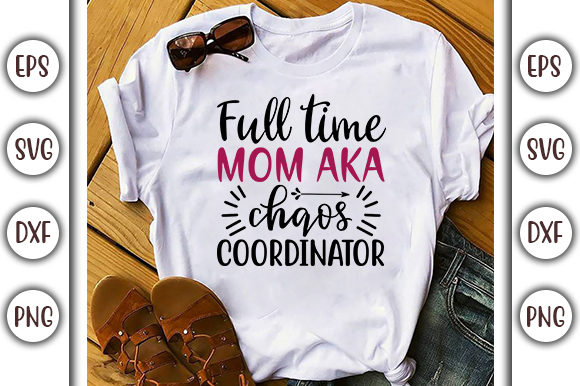 Download Free Funny Mom Life Svg Design Full Time Mom Graphic By for Cricut Explore, Silhouette and other cutting machines.