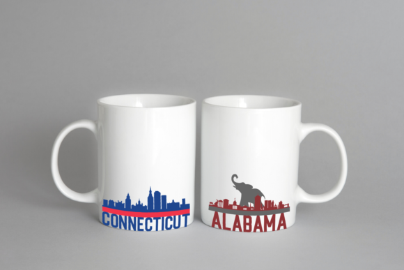 US Skylines Graphic Crafts By Graphipedia - Image 6