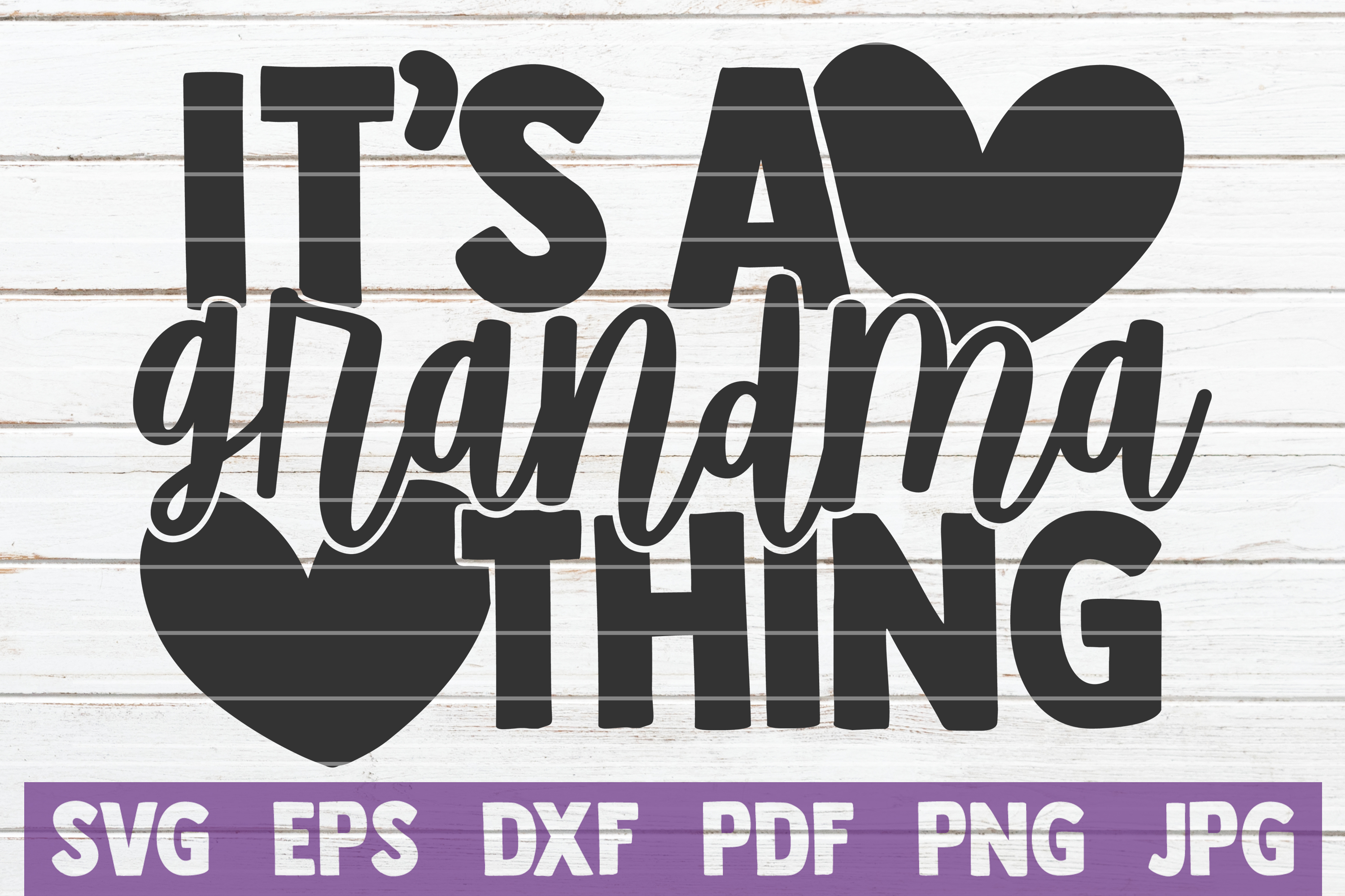 Download Free It S A Grandma Thing Graphic By Mintymarshmallows Creative Fabrica for Cricut Explore, Silhouette and other cutting machines.