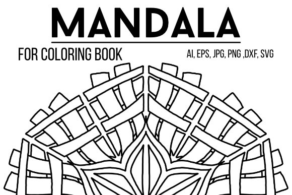 Print on Demand: Mandala 38 Graphic Coloring Pages & Books By stanosh