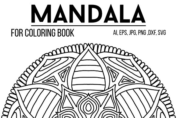 Print on Demand: Mandala 39 Graphic Coloring Pages & Books By stanosh