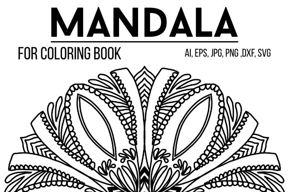 Print on Demand: Mandala Graphics 33 Graphic Coloring Pages & Books Adults By stanosh