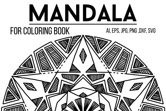Print on Demand: Original Mandala Design 40 Graphic Coloring Pages & Books By stanosh