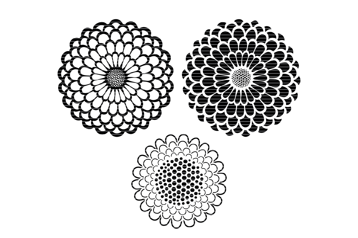 Download Free Sunflower Graphic By Meshaarts Creative Fabrica for Cricut Explore, Silhouette and other cutting machines.