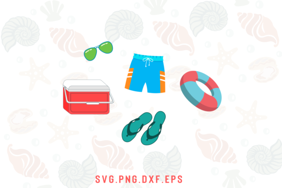 The Beach Bundle Graphic Item