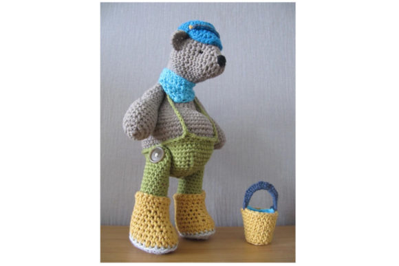 Biscuit Bear Graphic Crochet Patterns By Tangle Tree Creative