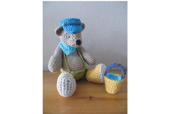 Biscuit Bear Graphic Crochet Patterns By Tangle Tree Creative - Image 2