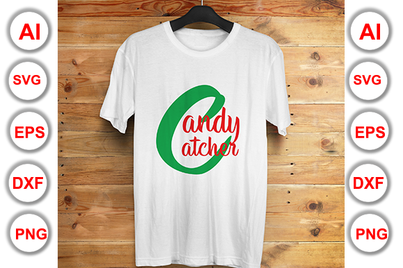Candy Catcher Graphic Print Templates By Graphics Cafe
