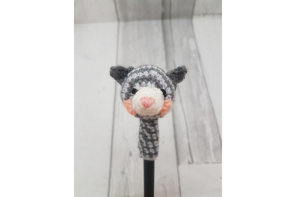Cat Pen Topper Graphic Crochet Patterns By Tangle Tree Creative - Image 3