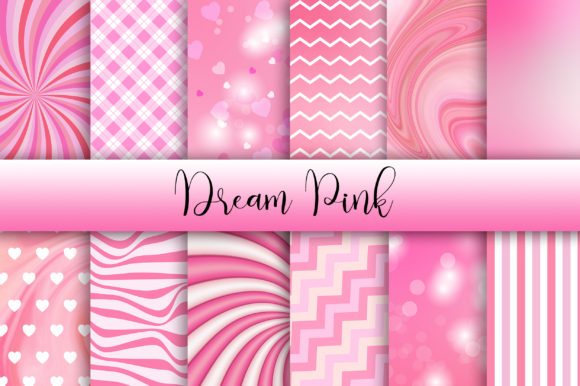Dream Pink Background Graphic Backgrounds By PinkPearly