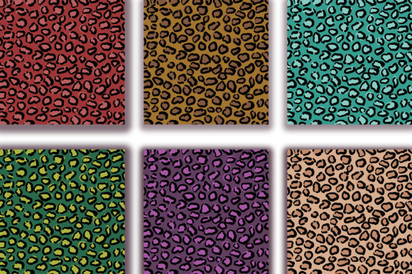 Download Free Leopard Background Digital Papers Graphic By Pinkpearly for Cricut Explore, Silhouette and other cutting machines.