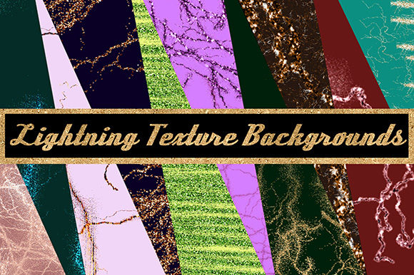Lightning Texture Backgrounds Graphic Textures By Subi Designs