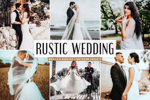 Print on Demand: Rustic Wedding Pack Lightroom Presets Graphic Actions & Presets By Creative Tacos - Image 1