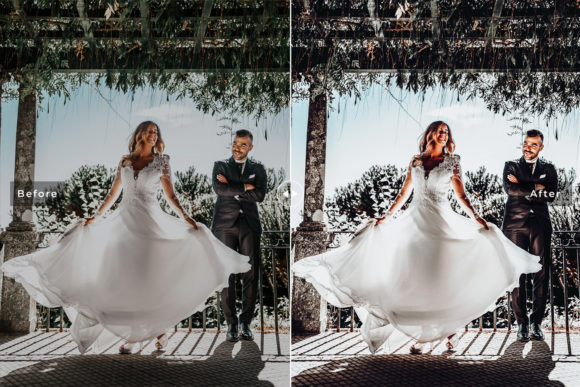Print on Demand: Rustic Wedding Pack Lightroom Presets Graphic Actions & Presets By Creative Tacos - Image 6