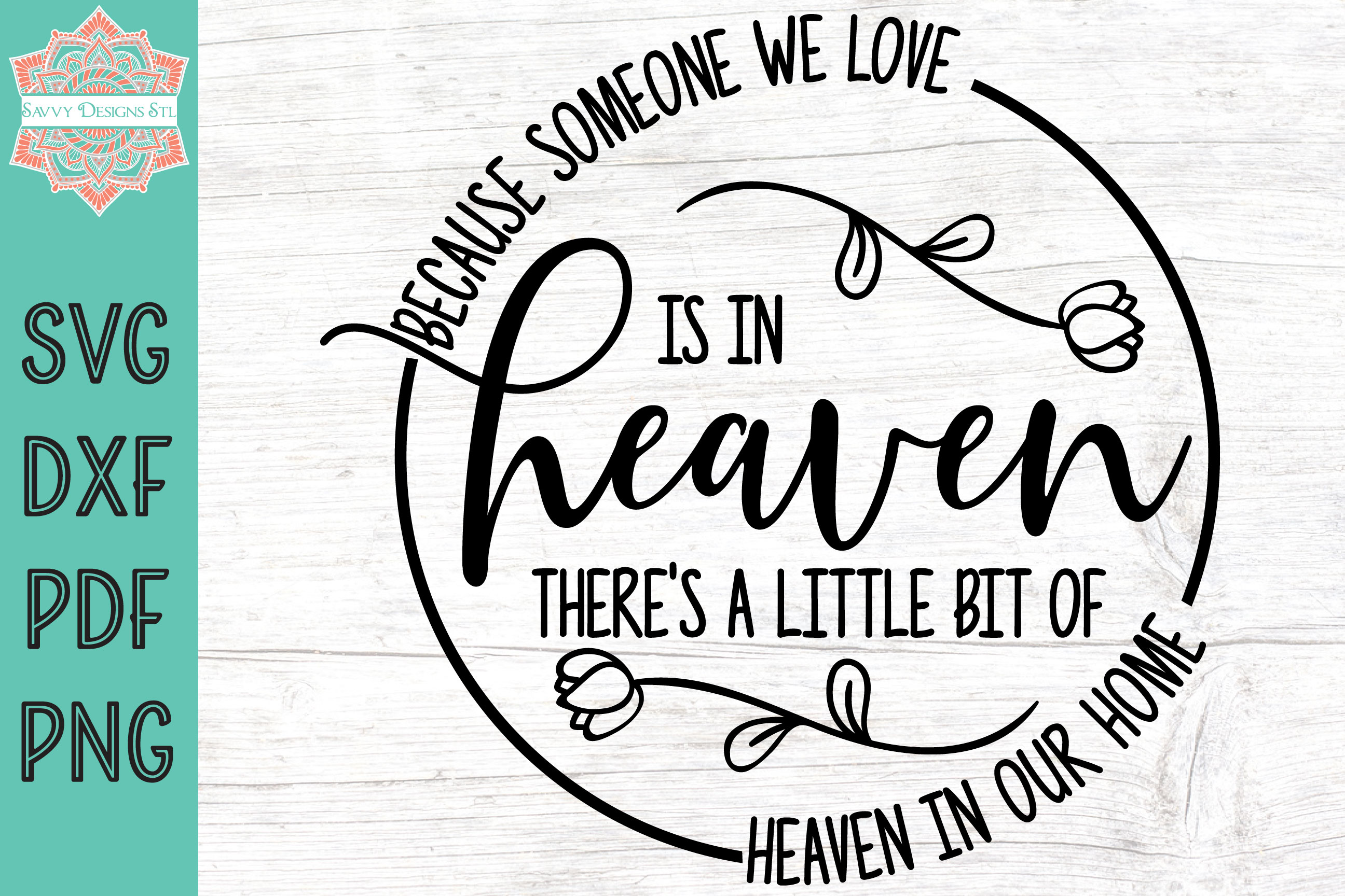 Download Free Someone In Heaven Graphic By Savvydesignsstl Creative Fabrica for Cricut Explore, Silhouette and other cutting machines.