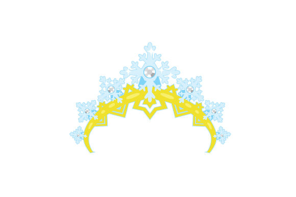 Snowflake Tiara Beauty & Fashion Craft Cut File By Creative Fabrica Crafts - Image 1