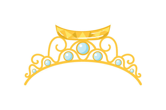 Canoe Tiara Beauty & Fashion Craft Cut File By Creative Fabrica Crafts - Image 1