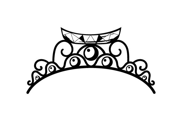 Canoe Tiara Beauty & Fashion Craft Cut File By Creative Fabrica Crafts - Image 2