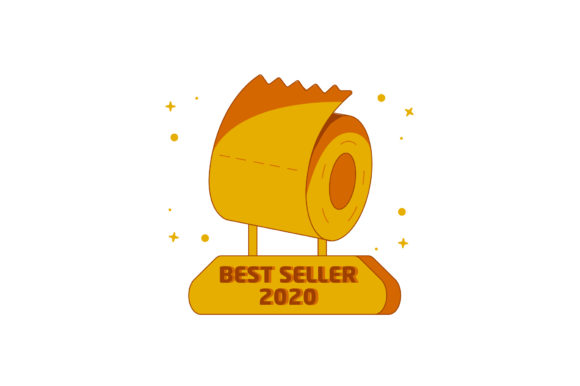 Download Free Best Seller 2020 Toilet Paper Trophy Graphic By Miketoon for Cricut Explore, Silhouette and other cutting machines.