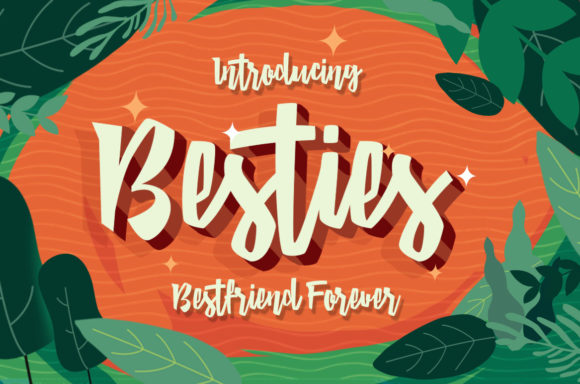 Print on Demand: Besties Script & Handwritten Font By agniardii