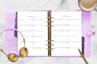 Download Free Birthday Log Planner Printable A5 Graphic By Planfantastic Creative Fabrica for Cricut Explore, Silhouette and other cutting machines.