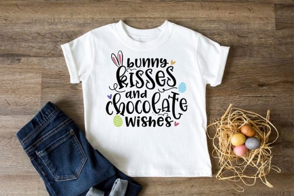 Print on Demand: Bunny Kisses and Choclate Wishes Graphic Crafts By Simply Cut Co