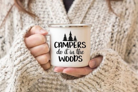 Print on Demand: Campers Do It in the Woods Graphic Crafts By Simply Cut Co