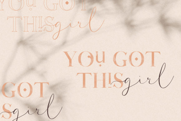 Print on Demand: Coral Lovers Duo Script & Handwritten Font By SilverStag - Image 3