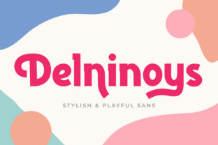 Print on Demand: Delninoys Display Font By almarkhatype