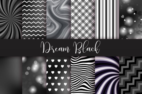 Dream Black Background Graphic Backgrounds By PinkPearly