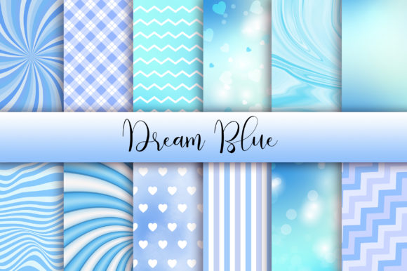 Dream Blue Background Graphic Backgrounds By PinkPearly
