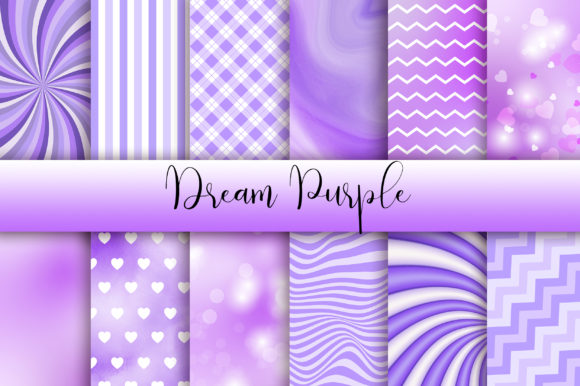 Dream Purple Background Graphic Backgrounds By PinkPearly