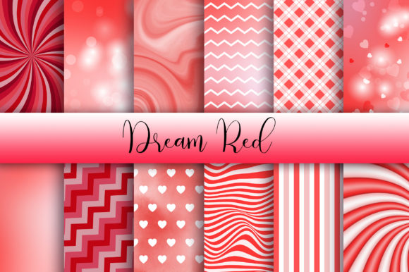 Dream Red Background Graphic Backgrounds By PinkPearly