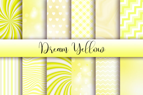 Dream Yellow Background Graphic Backgrounds By PinkPearly