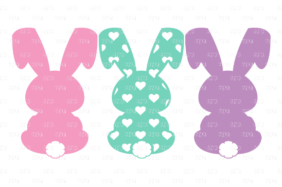 Download Free Easter Bunny Peeps Design Graphic By Josephine S Digital Art for Cricut Explore, Silhouette and other cutting machines.