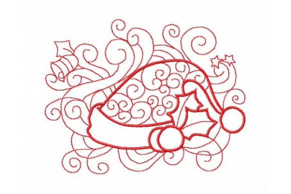 Enchanted Holiday Christmas Embroidery Design By Sue O'Very Designs - Image 1