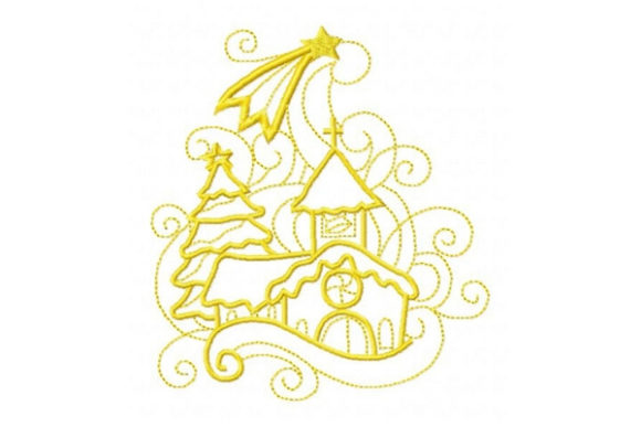 Enchanted Holiday Christmas Embroidery Design By Sue O'Very Designs