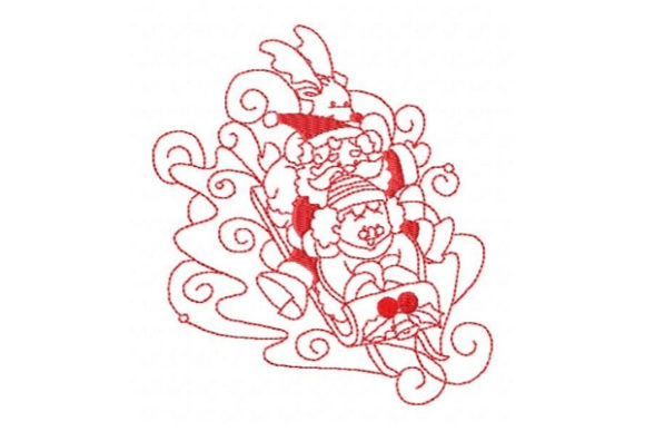 Enchanted Holiday Christmas Embroidery Design By Sookie Sews