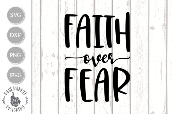 Download Free Faith Cross Graphic By Rose Rabbit Designery Creative Fabrica for Cricut Explore, Silhouette and other cutting machines.