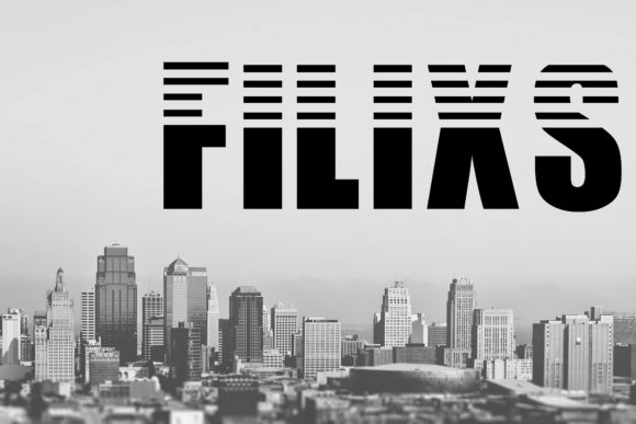 Print on Demand: Filix Display Font By KtwoP