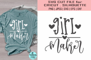 Download Free Girl Maker Mom Life Graphic By Midmagart Creative Fabrica for Cricut Explore, Silhouette and other cutting machines.