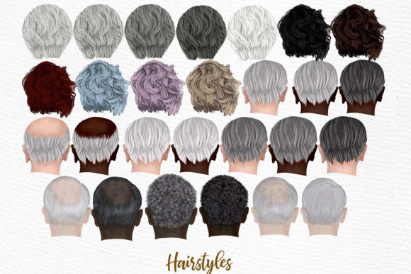 Grandparents Clipart Graphic Illustrations By LeCoqDesign - Image 4