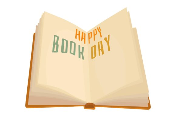 Print on Demand: Happy Book Day Graphic Crafts By arausidp
