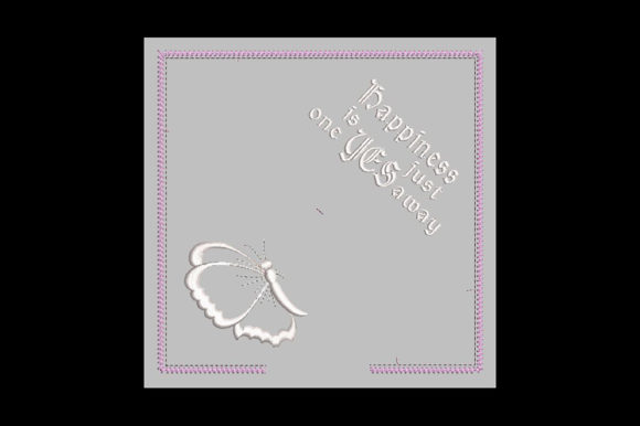 Print on Demand: In-the-Hoop Wedding Ring Cushion ITH Wedding Designs Embroidery Design By Embroidery Shelter - Image 2