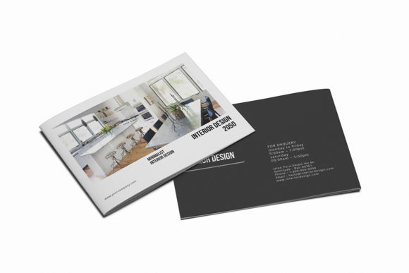 Print on Demand: Interior Design Brochure Graphic Print Templates By Giant Design