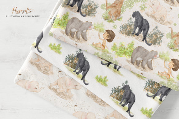 Jungle Patterns,woodland Patterns Graphic Patterns By Hippogifts - Image 10