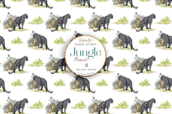 Jungle Patterns,woodland Patterns Graphic Patterns By Hippogifts - Image 4