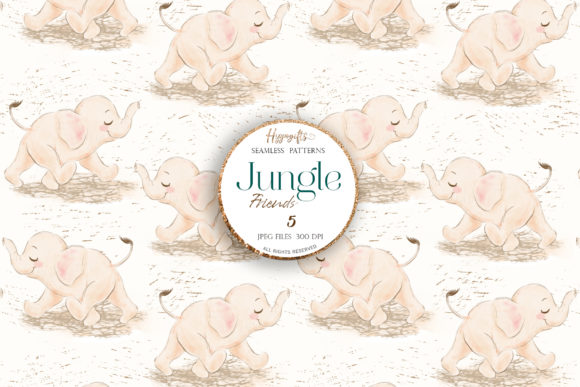 Jungle Patterns,woodland Patterns Graphic Patterns By Hippogifts - Image 5